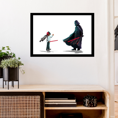 Vader vs Me[24x36 Poster]