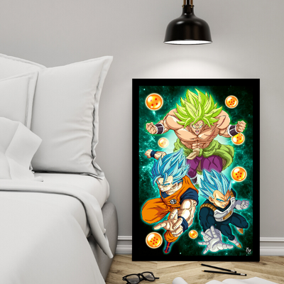 Dragon Broly 2[18x24 Poster]