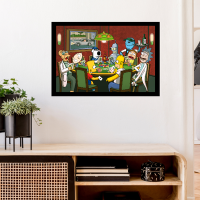Poker Night[24x36 Poster]