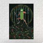 Pickle Rick[24x36 Poster]