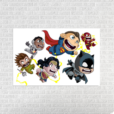 Chibi Justice League 2