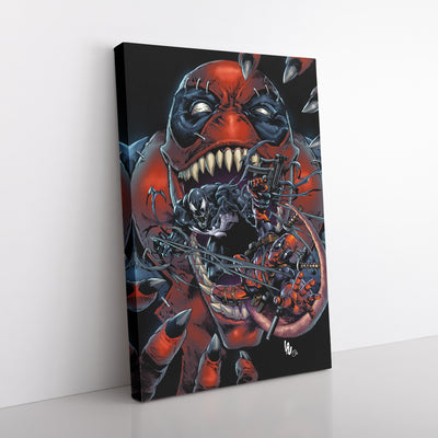 [Exclusive] Venompool -Limited Edition Canvas Print (1 of a kind)