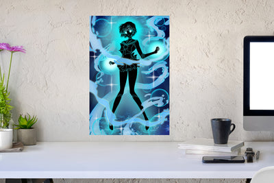 [Small Canvas] Cosmic Sailor Mercury