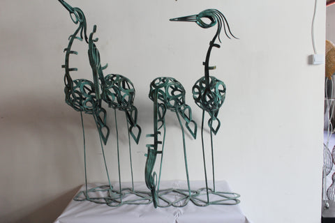 Iron Birds (4pcs)