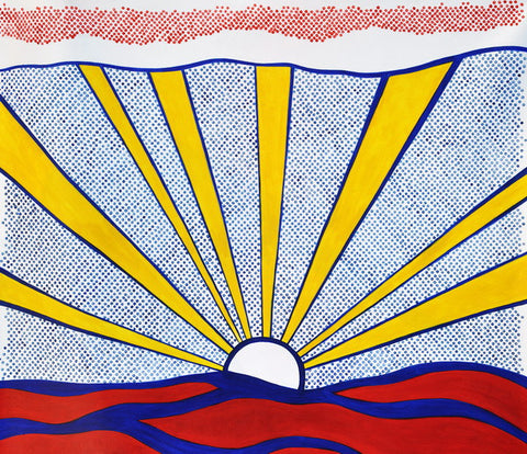 Sunrise Pop Painting