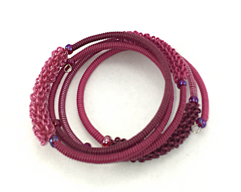 Spiral Bracelet - Crushed Berry