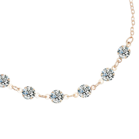 Glenmore Crystal Anklet () - Chizmiiz Boutique