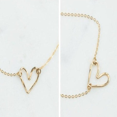 Heart on your sleeve Choker Necklace