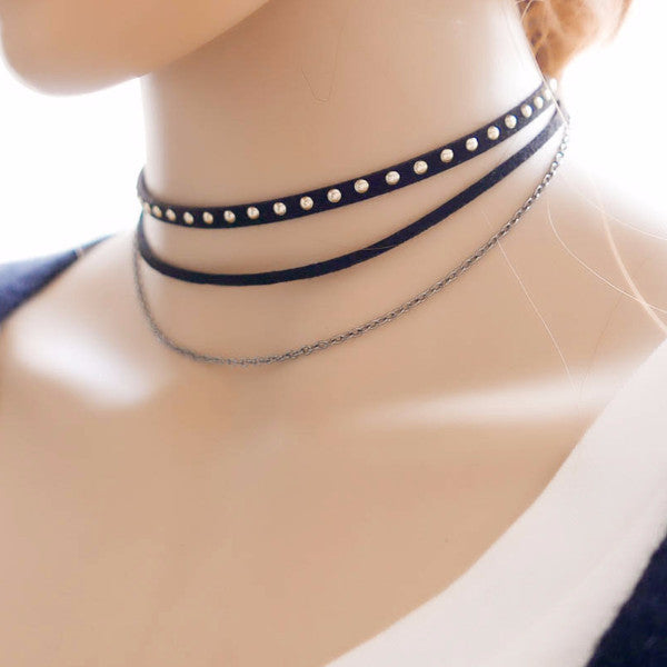 Hestia's Sister Choker Necklace (Choker Necklace) - Chizmiiz Boutique