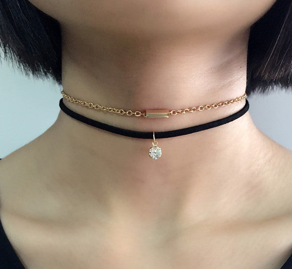 Helia's Choker Necklace (Choker Necklace) - Chizmiiz Boutique