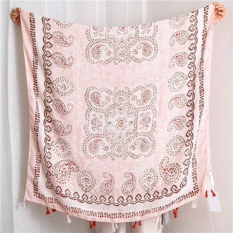 The Pink Gypsy Scarf