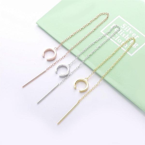 Stella Long Chain Earring