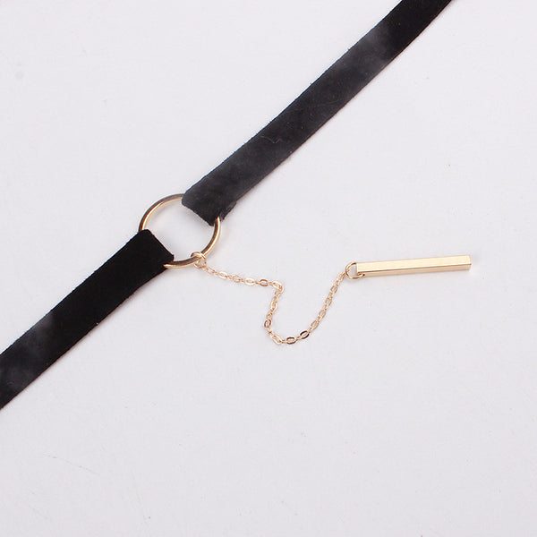 Trendy Girl Choker Necklace