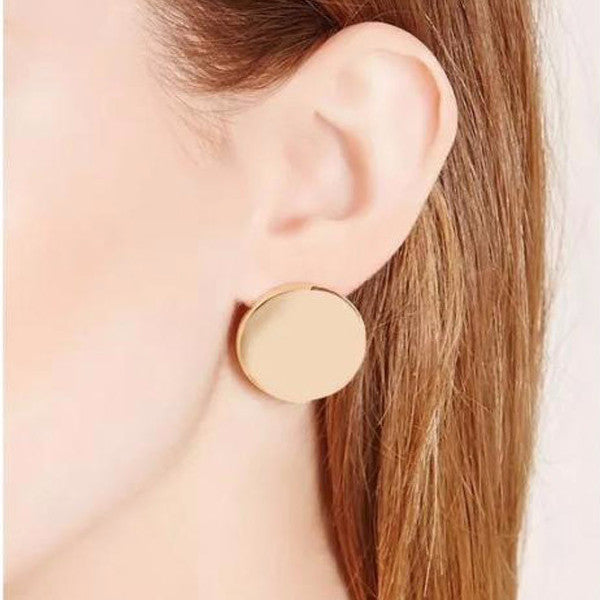 My Lucky Coin Earrings (Earring) - Chizmiiz Boutique