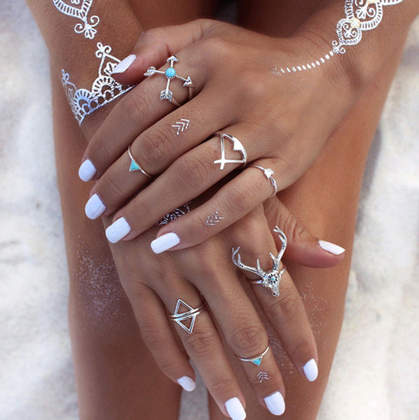 Andreea Stacked Rings