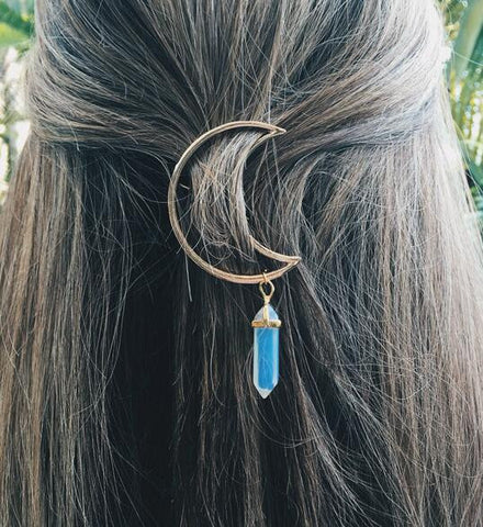 Moon Light Hairpin (Hairpin) - Chizmiiz Boutique