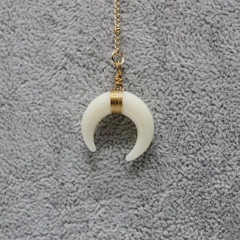 My Lucky Moon Necklace (Necklace) - Chizmiiz Boutique