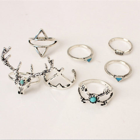 Andreea Stacked Rings (Ring, Stacked Rings) - Chizmiiz Boutique