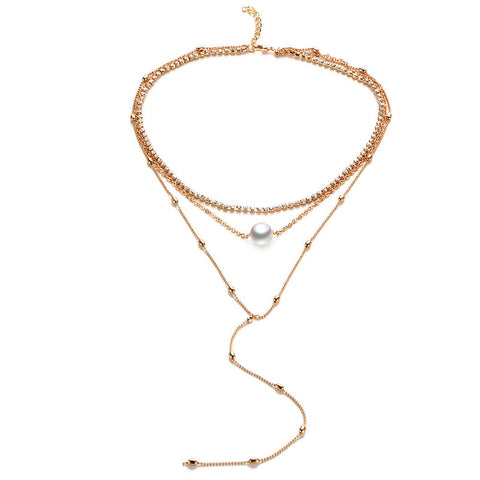 Scarlett Layer Necklace (Necklace) - Chizmiiz Boutique