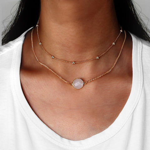 The Fortuna Necklace (Necklace) - Chizmiiz Boutique