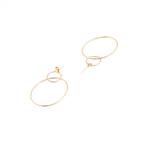 Grace in A Nutshell Earrings (Earring) - Chizmiiz Boutique