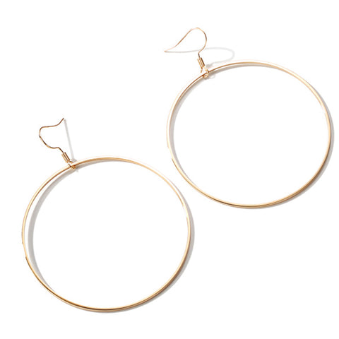 Azacca Loop Earrings (Earring) - Chizmiiz Boutique