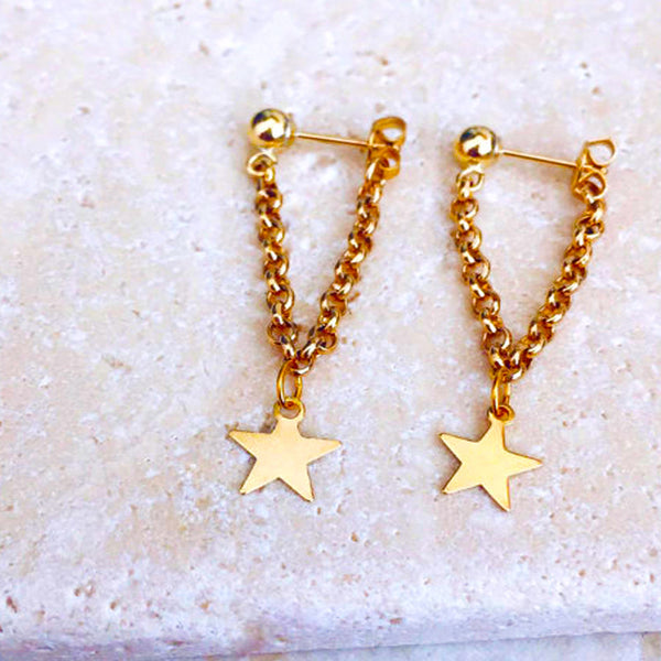 My Tiny Lucky Stars (Earring) - Chizmiiz Boutique