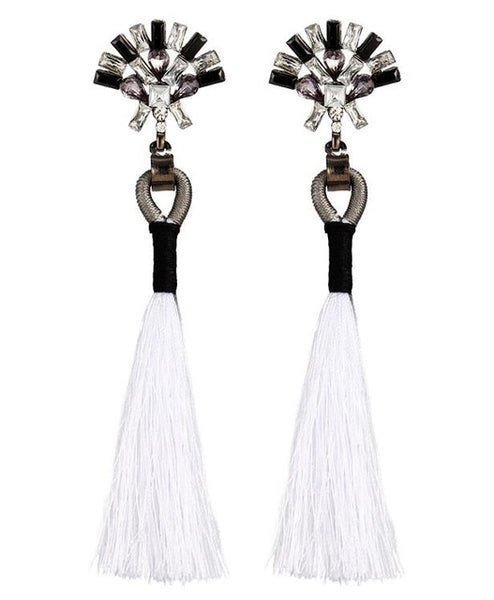 Rebecca Tassel Earrings () - Chizmiiz Boutique