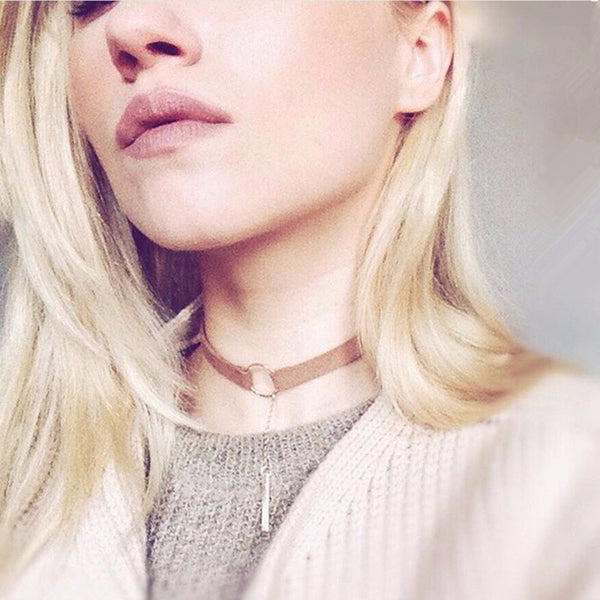 Trendy Girl Choker Necklace (Choker Necklace) - Chizmiiz Boutique