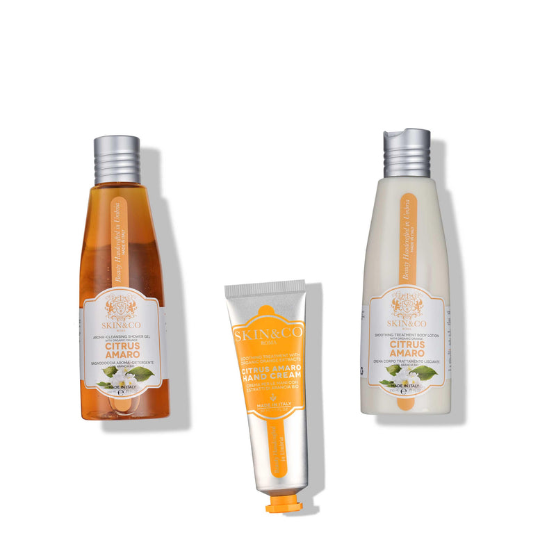 Citrus Amaro Wonderful Set | SKIN&CO