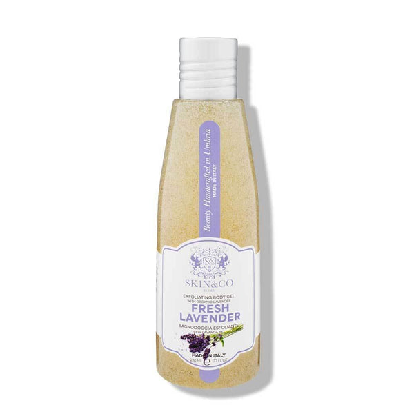 Fresh Lavender Exfoliating Body Gel - front