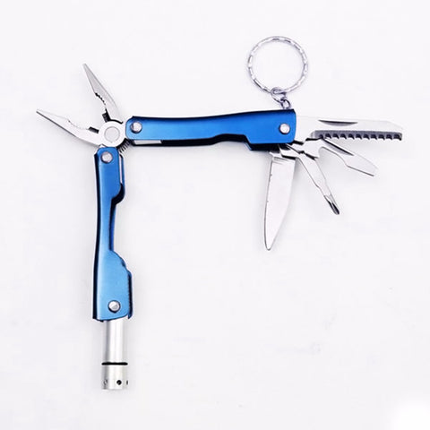 Mini Multitool Pliers with LED Flashlight