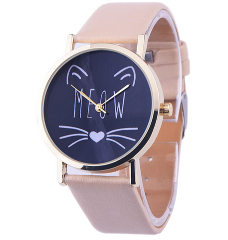 Cat Meow Watch-Free + Shipping