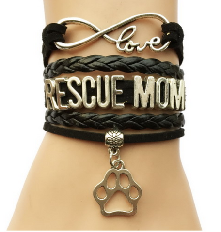 Infinity Love Rescue Mom Bracelet-Free + Shipping