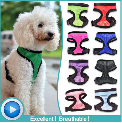Adjustable Dog Vest Harness for Dogs-Free + Shipping