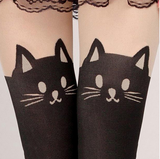 Cat Velvet Leggings-Free +Shipping