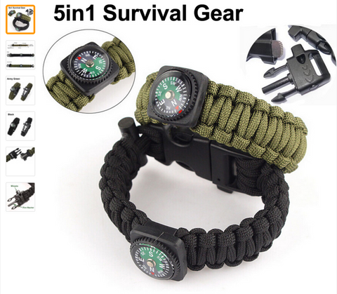 5 in 1Paracord Bracelet