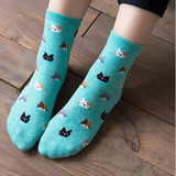 Cartoon Cat Socks-Free + Shipping