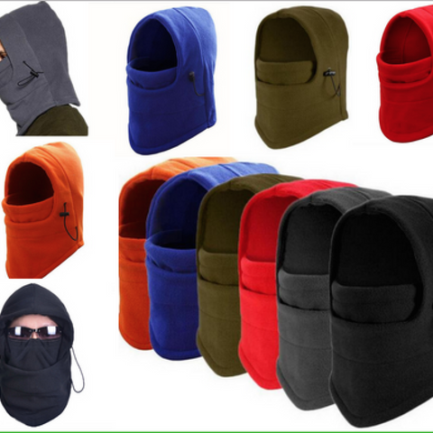 Thermal Fleece Balaclava Hood