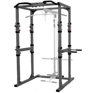 XMark-XMark XM-7620 Power Cage with Dip Station and Pull-up Bar XM-7620-Power Rack-PACESETTER FITNESS