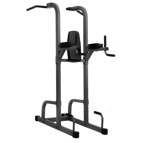 XMark-XMark XM-7617 VKR Vertical Knee Raise with Dip and Pull-up Station Power Tower-Squat Rack-PACESETTER FITNESS