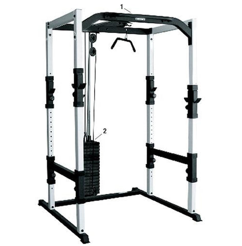 YORK® 48053 FTS Power Cage - PACESETTER FITNESS