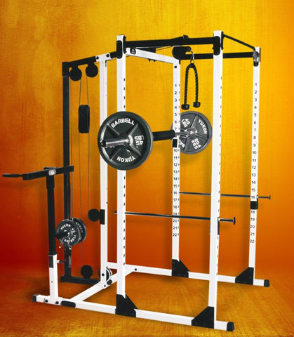 Yukon-Yukon Fitness - PRK-200	Power Rack (long base)-Power Rack-PACESETTER FITNESS