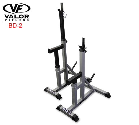 Valor Fitness-Valor Fitness BD-2 Independent Bench Press Stands-Power Rack-PACESETTER FITNESS
