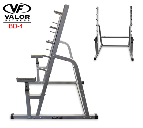 Valor Fitness BD-4 Squat/Bench Combo Rack - PACESETTER FITNESS