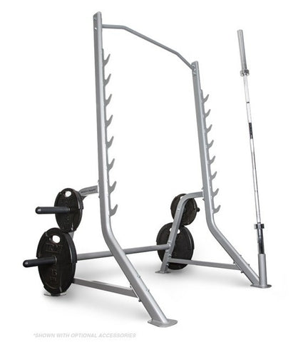 BodyCraft Half Squat Rack Cage F460 for Free Weights - PACESETTER FITNESS