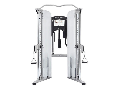 BodyCraft PFT160 V2 PFT Functional Trainer,  2x160lb Stacks, w/accessories/workout - PACESETTER FITNESS