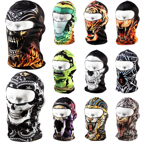 Pacesetter-21 Color Balaclava Tactical Airsoft Hunting Outdoor Snowboard Paintball Motorcycle Ski Cycling WarGame Protection Full Face Mask-Clothing-PACESETTER FITNESS