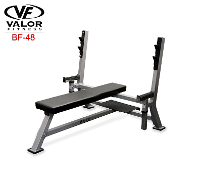 Valor Fitness-Valor Fitness BF-48 Olympic Weight Bench-Weight Bench-PACESETTER FITNESS