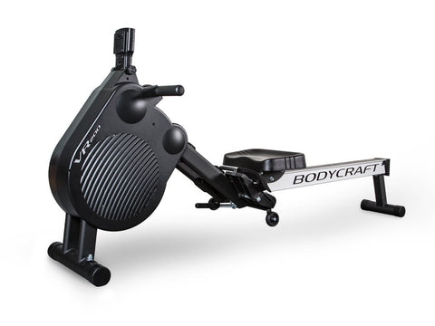 Body Craft-BodyCraft VR200 Rowing Machine w/Air/Magnetic Resistance-Rowing Machine-PACESETTER FITNESS